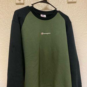 Champions Green Sweater Crewneck